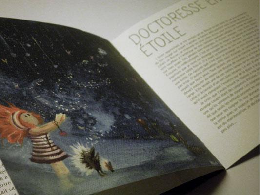 Projections céletes par Guillaume Marical, Doctoresse en étoile