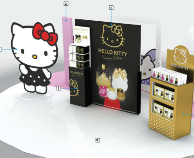 Hello Kitty KOTO Parfums @ Madrid